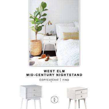 West Elm Mid-Century Nightstand