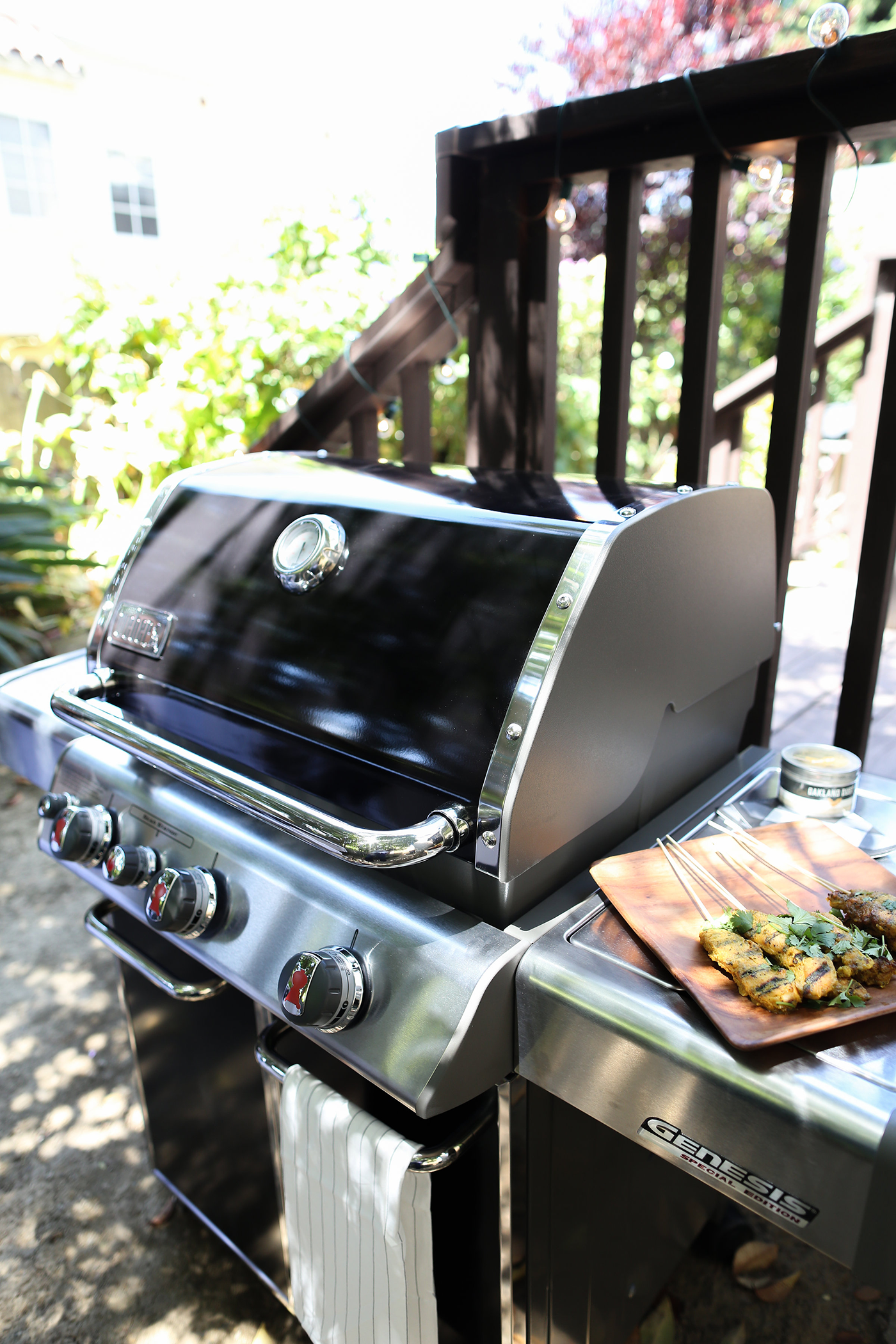 Get your backyard ready for BBQ season just in time for summer! Copy Cat Chic shows you an easy way to throw a barbecue party for friends & family with Ace Hardware and Weber Grills.
