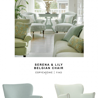 Serena & Lily Belgian Chair