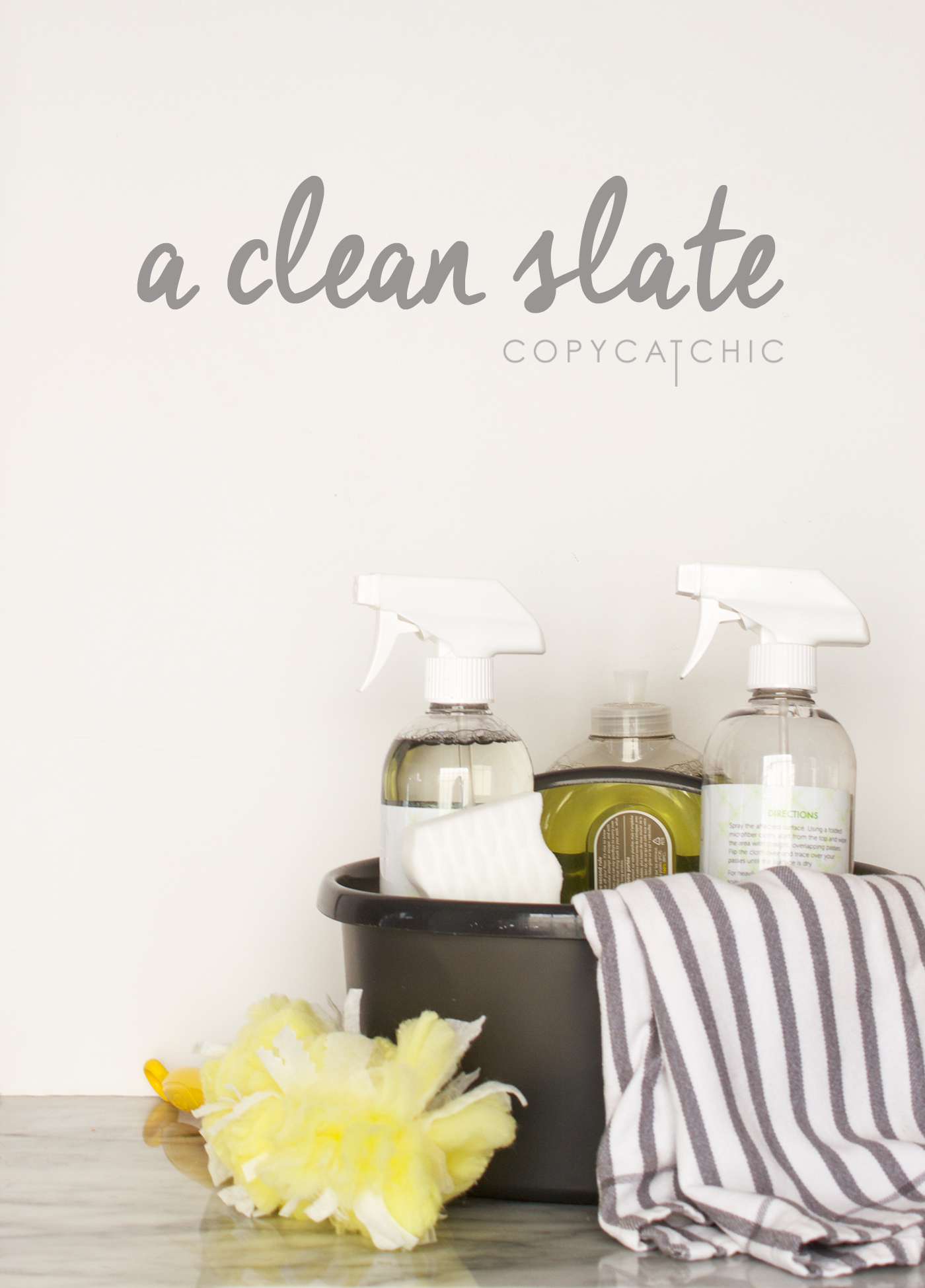 Copy Cat Chic tips & tricks on keeping your new home as clean as the day you moved in. Keep a clean slate by organizing and cleaning with Mr Clean & Swiffer