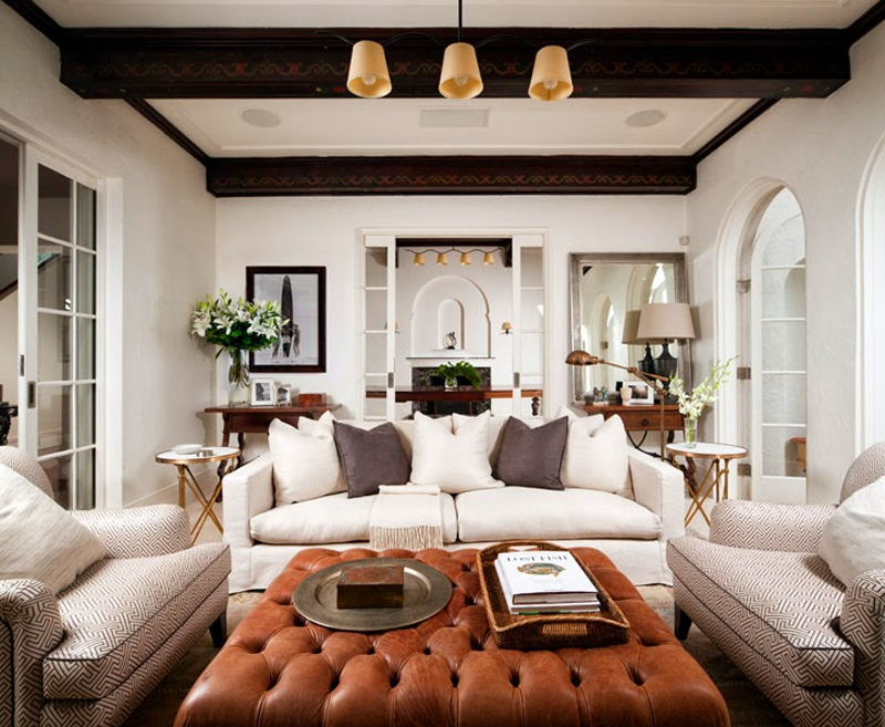 Copy Cat Chic Living Room Inspiration For My New Home. Neutral Creamy  Whites Combined With