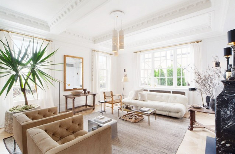Via · Copy Cat Chic Living Room Inspiration For My New Home. Neutral Creamy  Whites Combined With