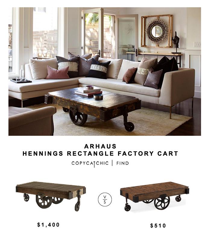 Arhaus Hennings Rectangular Cart copycatchic