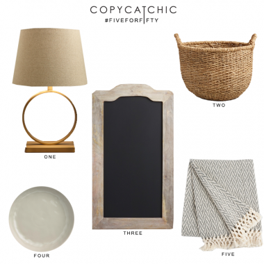 Five for Fifty | Neutral Tones from World Market