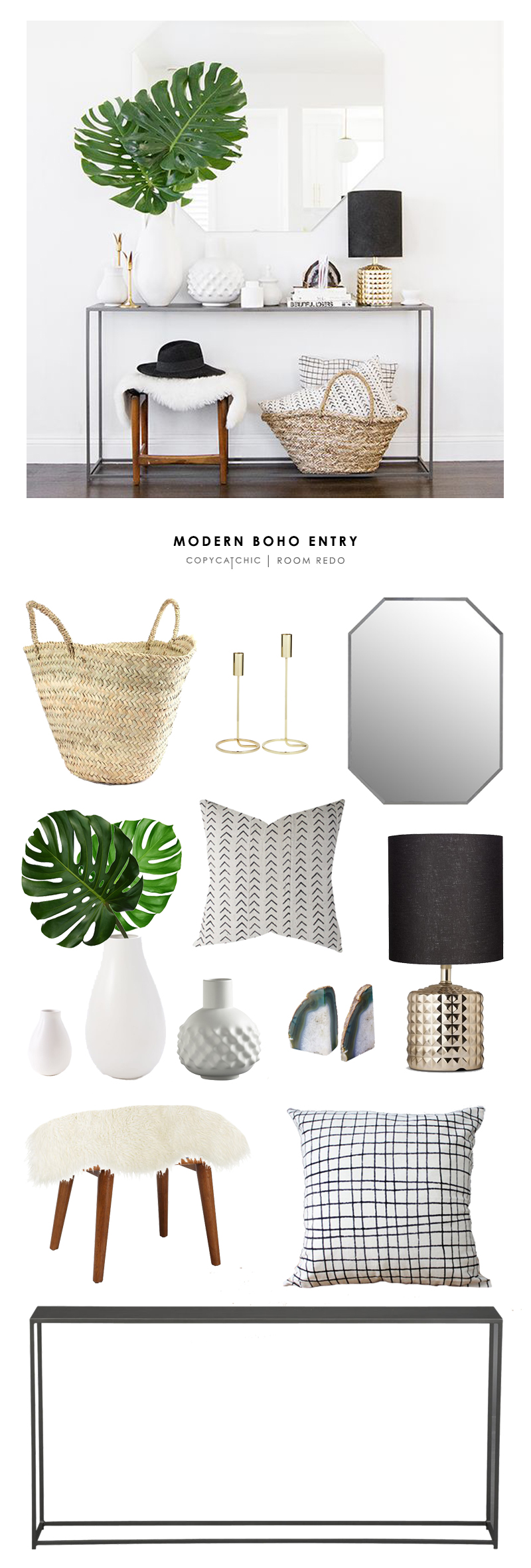 Entryway archives page 3 of 9 copycatchic for Modern home decor for less