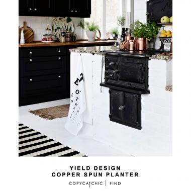 Yield Design Copper Spun Planter