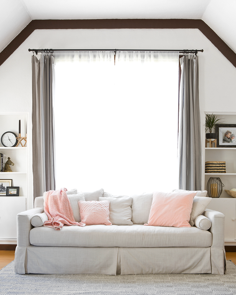 Blush color favorite picks  for under $50 from @worldmarket and @copycatchic | budget home decor and design looks for less room redos #FiveforFifty