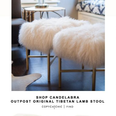 Shop Candelabra Outpost Original Tibetan Lamb Stool