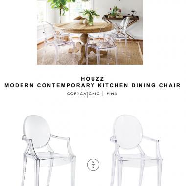 Houzz Modern Contemporary Kitchen Dining Chair