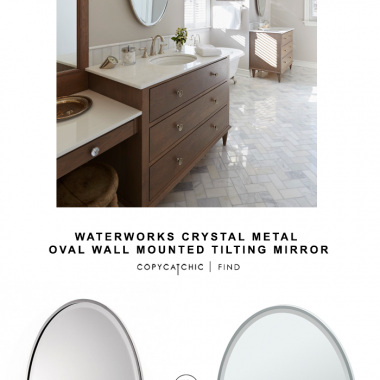 Bathroom archives page 4 of 9 copycatchic - Wall mounted tilting bathroom mirrors ...