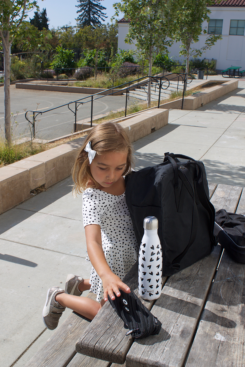 Modern and minimalist back to school supplies with @copycatchic