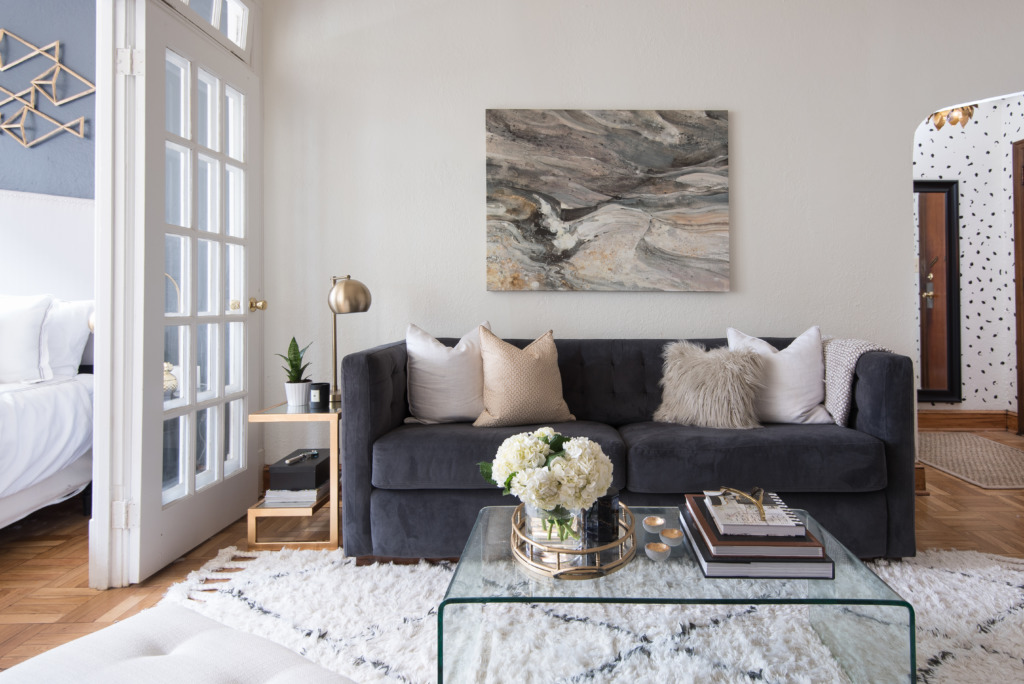 Copy Cat Chic Room Redo Neutral Luxe Living Room
