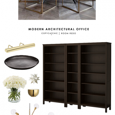 Copy Cat Chic Room Redo | Modern Architectural Office