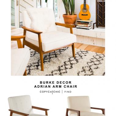 Burke Decor Adrian Arm Chair
