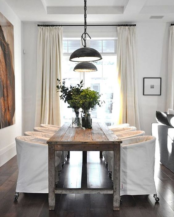 Copy Cat Chic Room Redo Modern Farmhouse Dining Room
