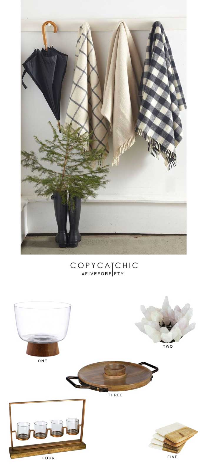 Copy Cat Chic picks budget friendly hostess and home gifts for under $50 from Kirklands | luxe living for less home decor & design for less for the holidays
