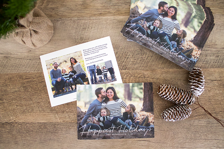 Copy Cat Chic | Our 2016 family photos and holiday cards from Minted. Christmas cards courtesy of @Minted and photos by @indigotahoe