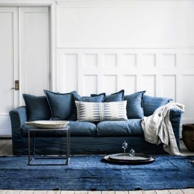 Our favorite popular indigo blue decor by Copy Cat Chic luxe living for less budget home decor | Indigo blue home trends, accessories and furnishings
