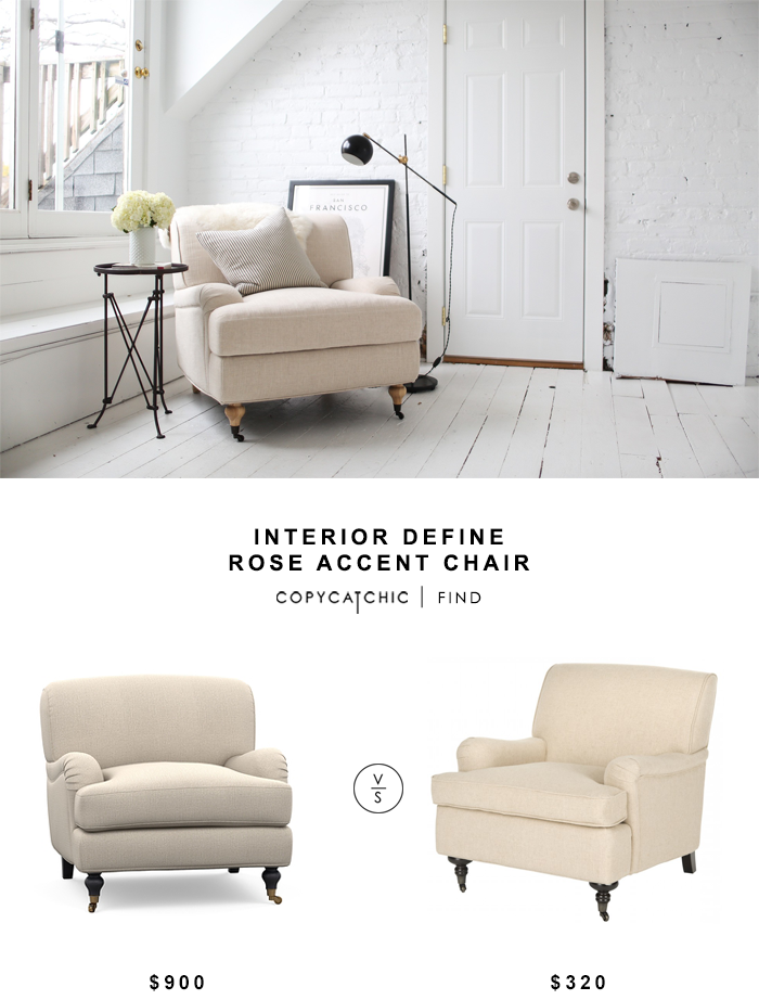 Interior Define Rose Accent Chair