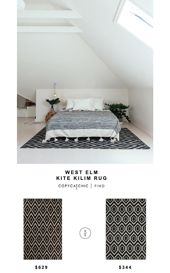 West Elm Kite Kilim Rug Copycatchic