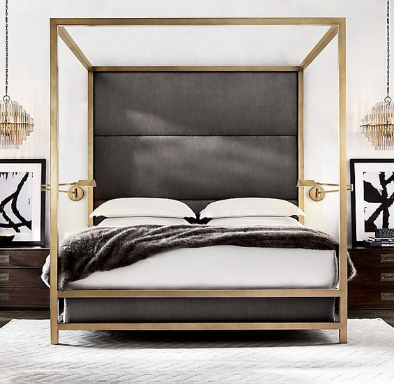 Z Gallerie Enzo Bed Copy Cat Chic