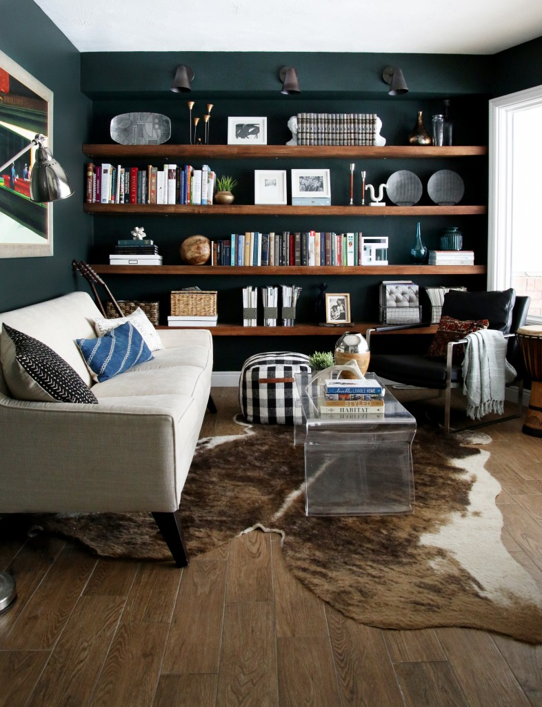Copy Cat Chic Room Redo Moody Green Den Copycatchic