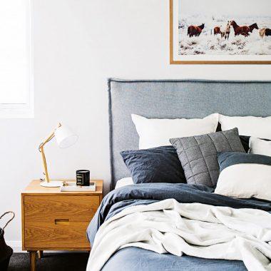 Anthropologie Belgian Linen Carlier Slipcover Bed