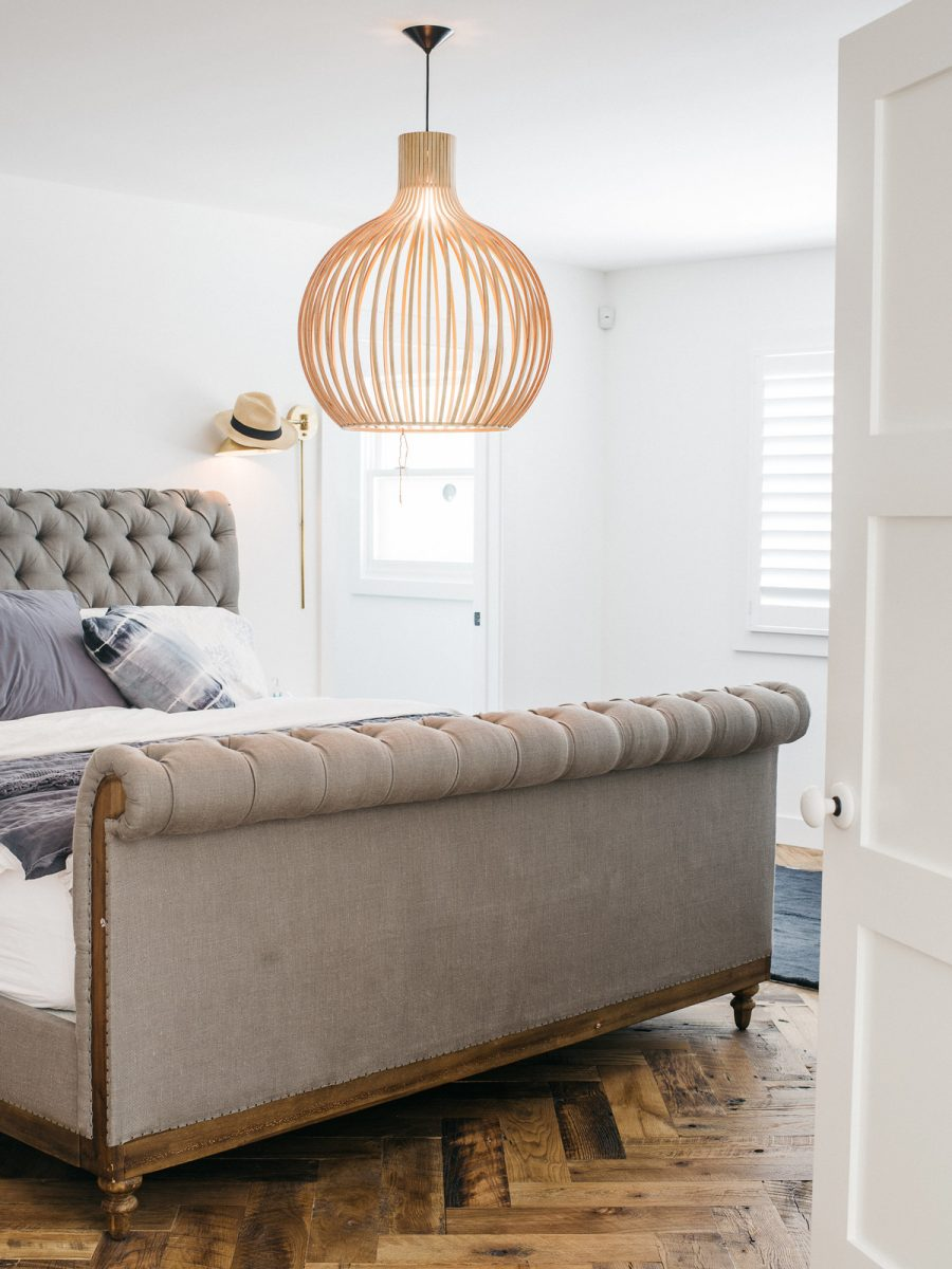 Restoration Hardware Chesterfield Sleigh Bed