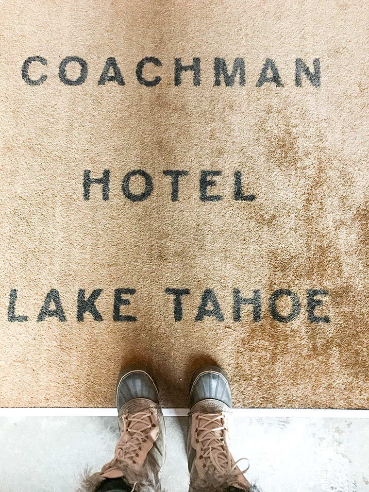 Designer Destination: The Coachman Hotel in South Lake Tahoe. A reasonably priced, modern chic hotel for hipsters and minimalists | travel by copycatchic