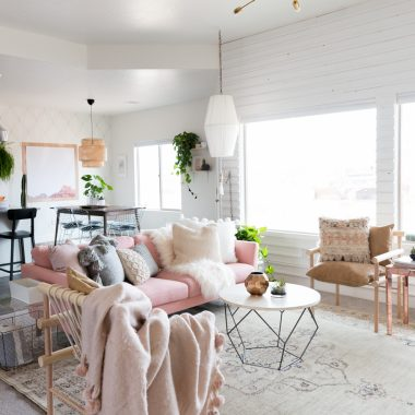 Copy Cat Chic Room Redo | Valentine's Inspired Living Room