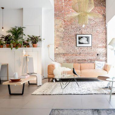 Copy Cat Chic Room Redo | Peachy Living Room