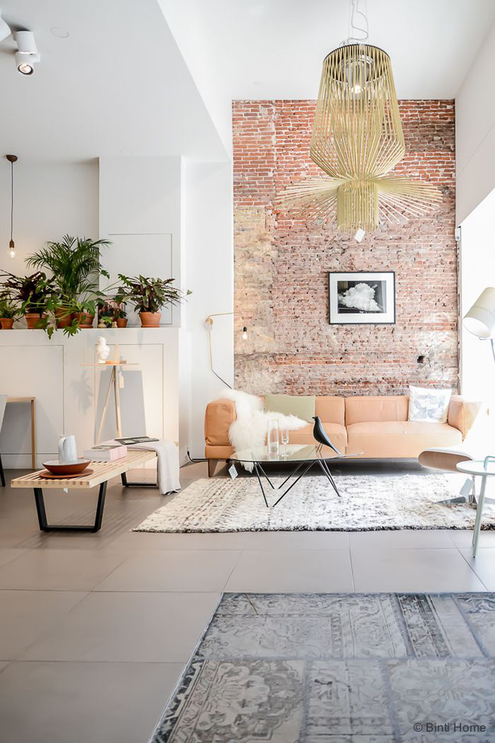 A Modern Scandinavian Blush Peach Living Room Gets Recreated For Less By  Copycatchic Luxe Living For Less Budget Home Decor And Design