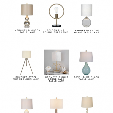 Our favorite lighting picks from Kirkland's 40% off lighting sale | copycatchic luxe living for less budget home decor and design