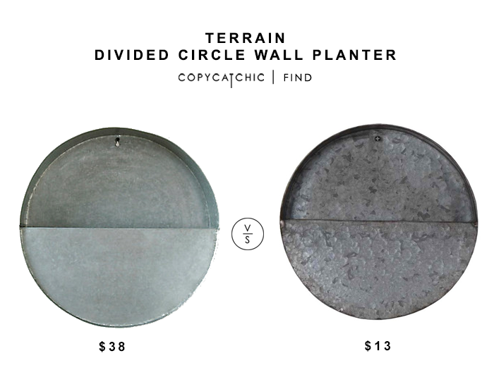 Terrain Divided Circle Wall Planter Copy Cat Chic