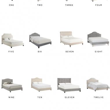 Home Trends | Upholstered Beds Under $700