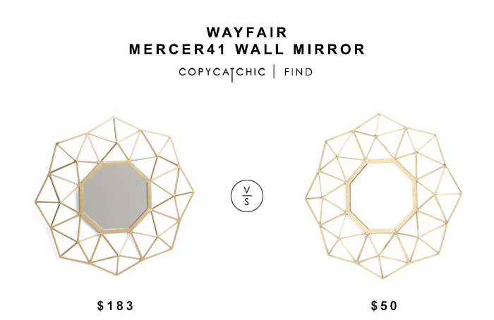 Wayfair Wall Mirrors wayfair mercer41 wall mirror - copycatchic