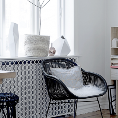 Bloomingville Braided Rattan Barrel Chair for $406 vs Target Wicker Accent Chair for $100 copycatchic luxe living for less budget home decor and design