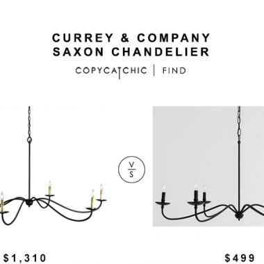 Currey and Company Saxon Chandelier