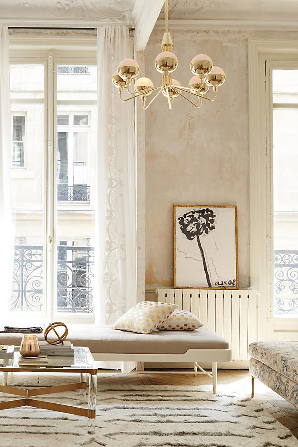Living The Anthropologie Way Of Life Living Rooms: Anthropologie Oscarine Lucite Coffee Table