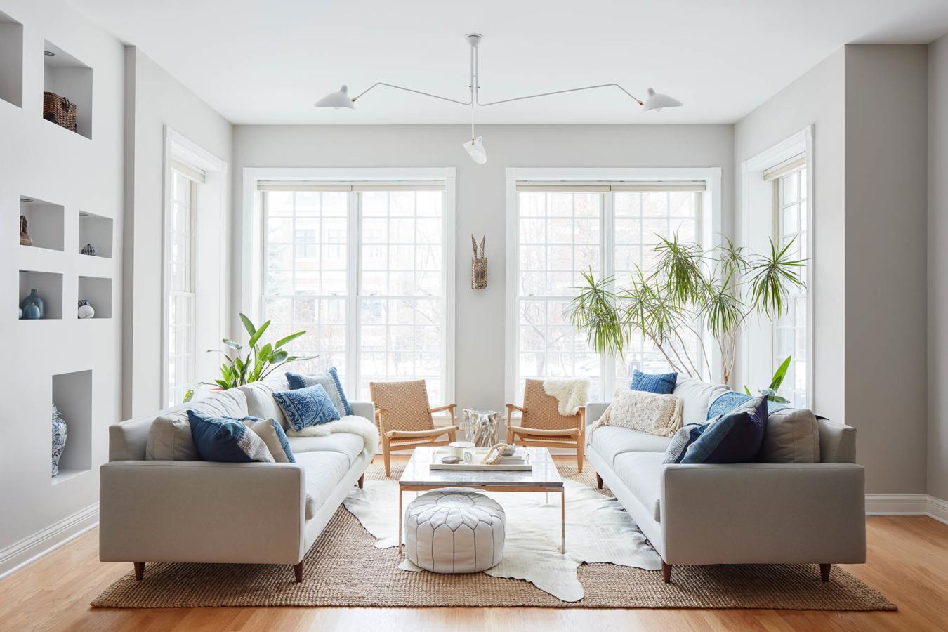 Boho Modern Living Room: Modern Bohemian Living Room