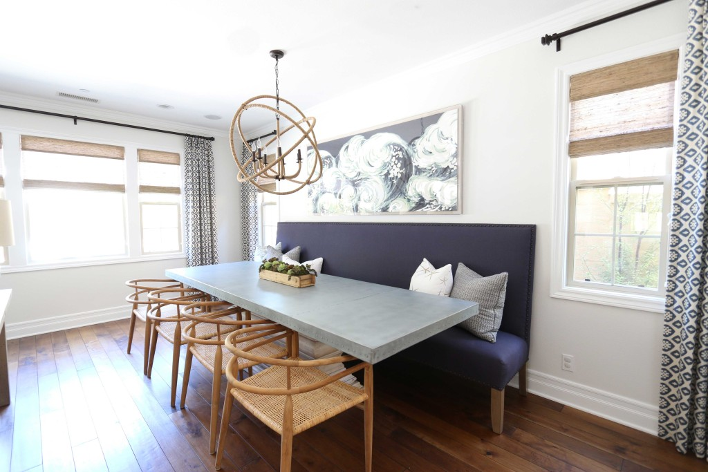 Copy Cat Chic Room Redo Rustic Modern Dining Room