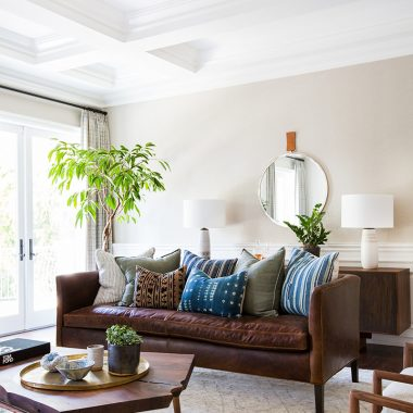 This boho midcentury living room by Amber Interiors gets recreated for less by copycatchic luxe living for less budget home decor and design