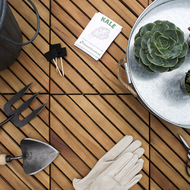 Home Trends | Potting Bench Essentials