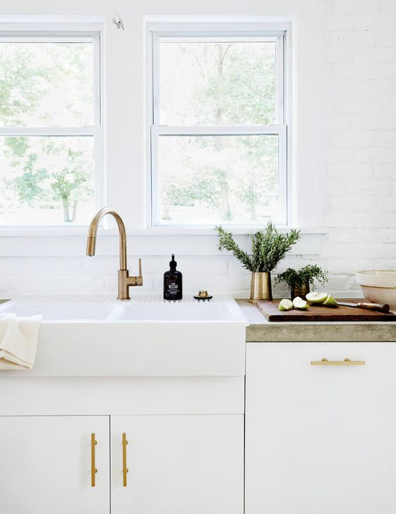 Need Supply Co. Brass Pencil Cup for $95 vs Ferm Living Brass Cup for $28 | copycatchic luxe living for less budget home decor and design looks for less