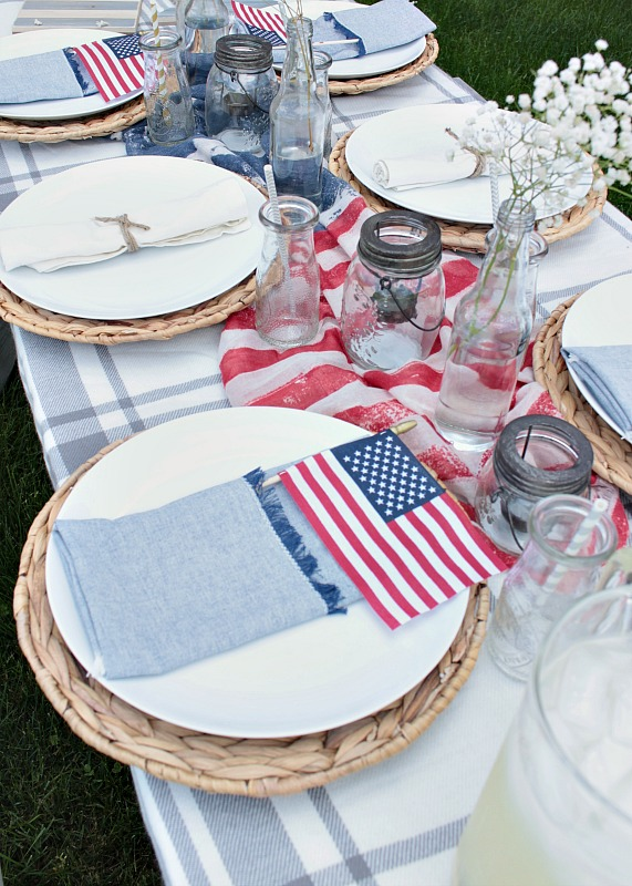 Our favorite 4th of July essentials from Copy Cat Chic luxe living for less budget home decor and design