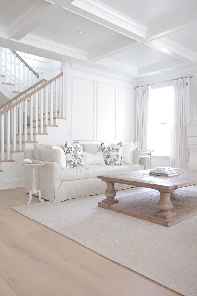 white furniture in living room restoration hardware braided wool rug copycatchic 23619