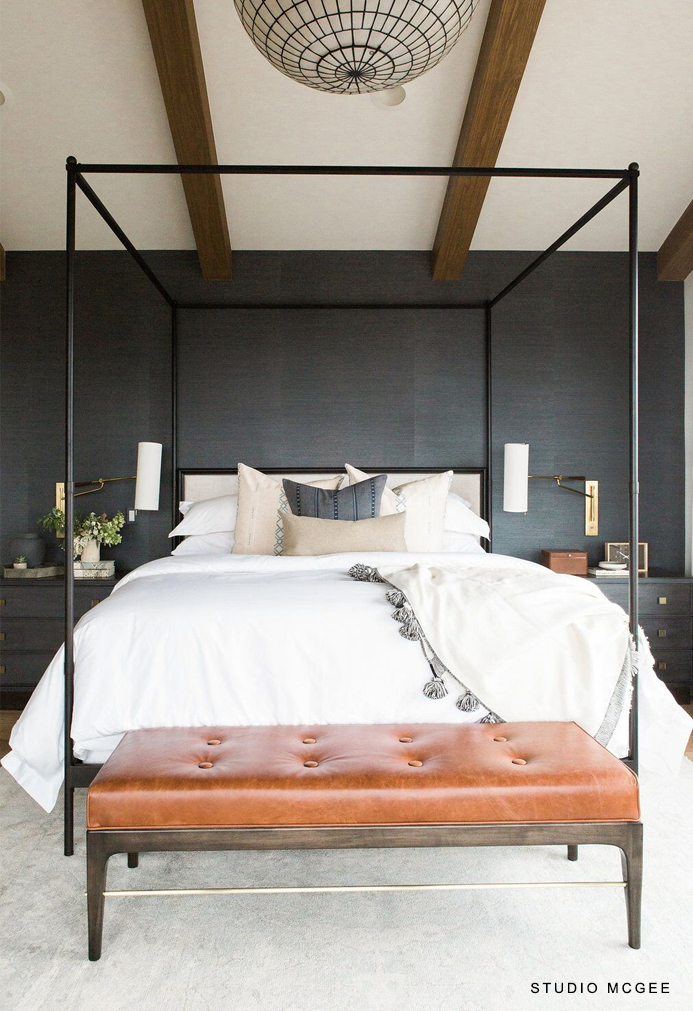 Restoration Hardware 29th C. French Iron Canopy Bed : designer-canopy-beds - designwebi.com