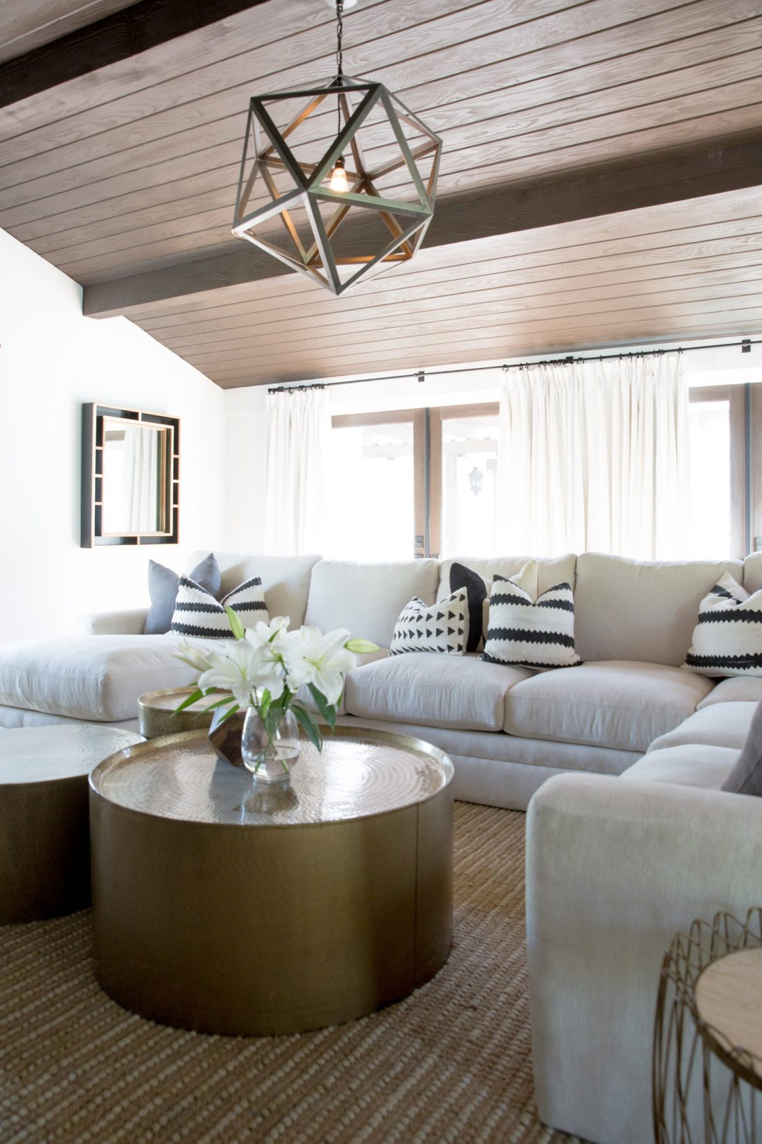 Copy Cat Chic Room Redo Modern Neutral Family Room