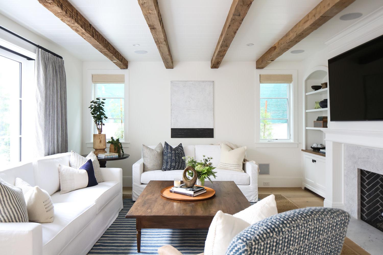 Copy cat chic room redo beachy boho living room copy - How to redo a living room under 100 ...