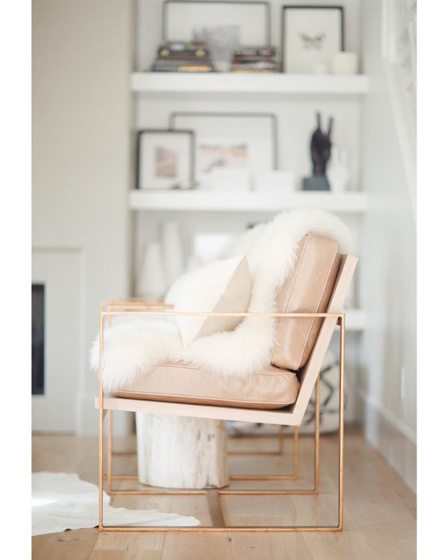CB2 Icelandic Sheepskin Throw for $249 vs Icelandic Sheepskin for $75 copycatchic luxe living for less budget home decor and design looks for less